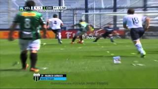 Gol de Carrasco. Vélez 1 - Nueva Chicago 1. Fecha 27. Primera División 2015. FPT
