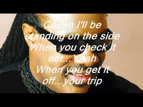 Stevie Wonder-Don't You Worry About A Thing Groove Version