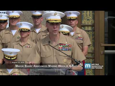 08/10/16 Marine Week News Conference August 10, 2016