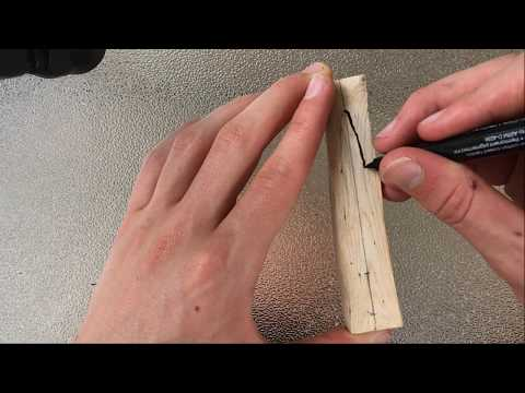 Making A Lure Out Of Wood