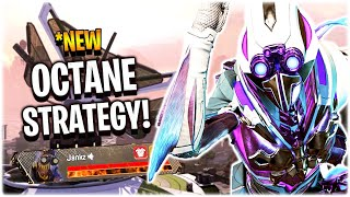this *NEW Octane Strategy makes him OP.. (Apex Legends Season 8)