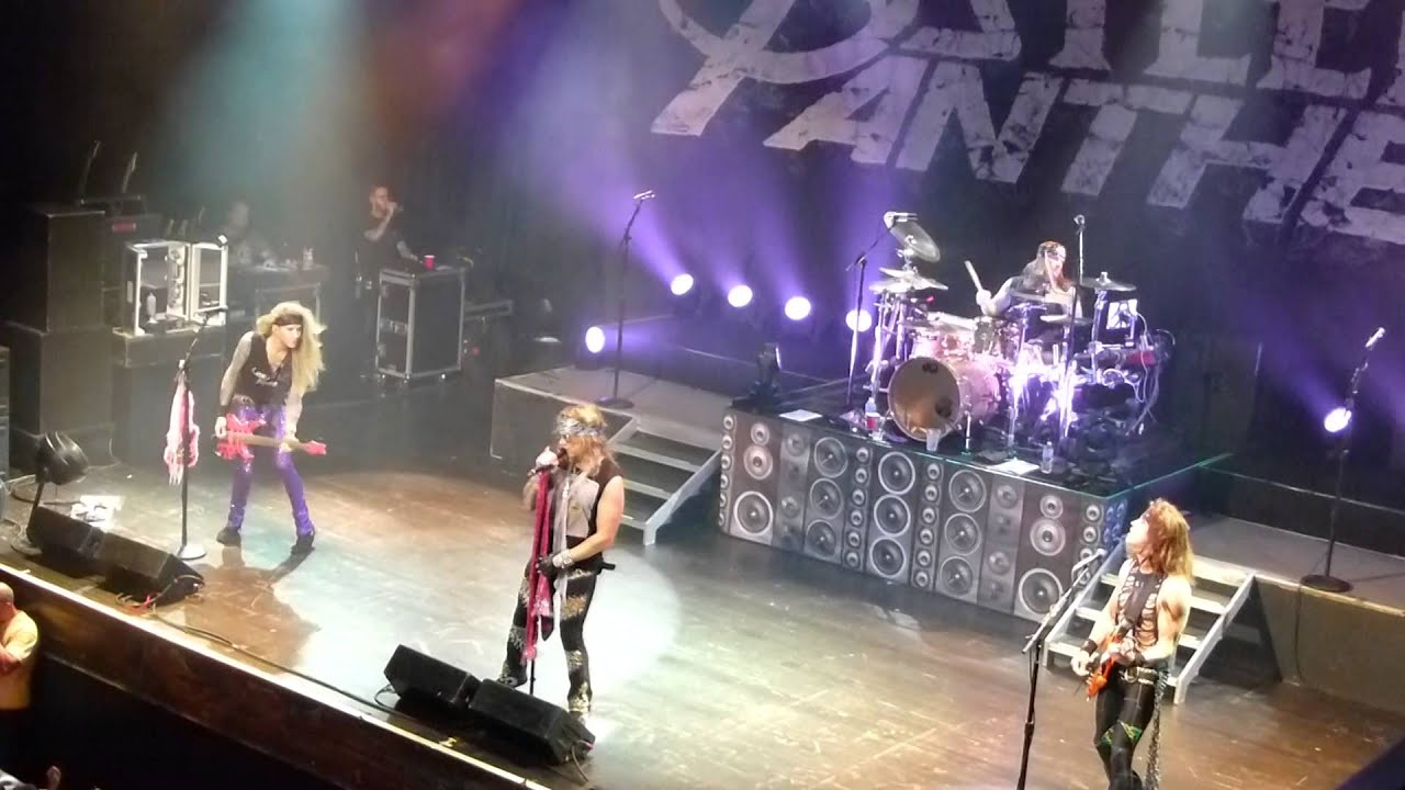 steel panther guitar solo turn out the lights 5 13 2014 h o b orlando youtube. Black Bedroom Furniture Sets. Home Design Ideas