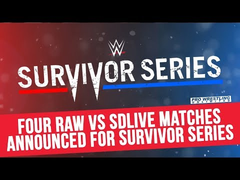 Four Raw vs Smackdown Matches Announced For Survivor Series