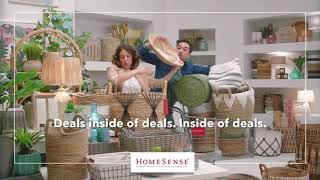 Find Storage Solutions, Perfectly Priced at HomeSense