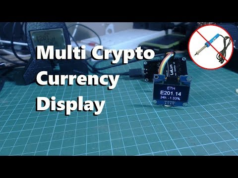 Arduino Crypto Currency Display
