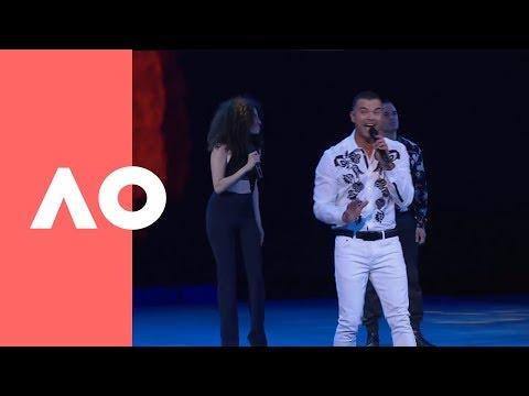 Guy Sebastian performs at the men's final | Australian Open 2019 Mp3