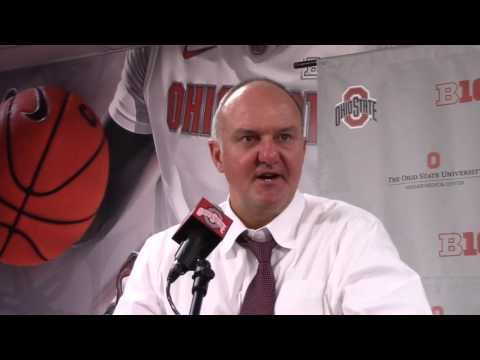 Thad Matta reacts to loss to Indiana