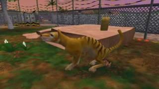 zoo tycoon 2 extinct animals zoo + thylacine request