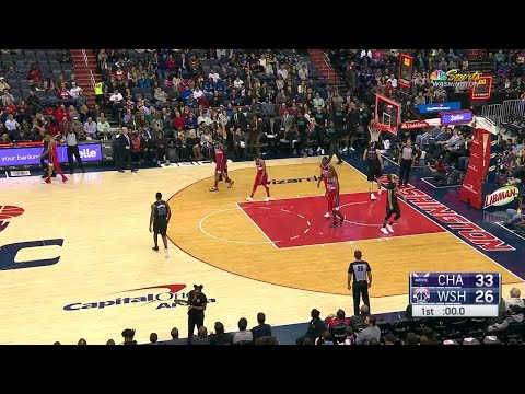 1st Quarter, One Box Video: Washington Wizards vs. Charlotte Hornets
