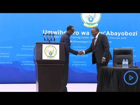 What you missed: This is how President Kenyatta was received in Rwanda
