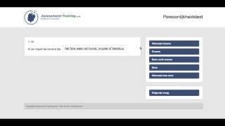 Gratis persoonlijkheidstest maken | Assessment-Training.com