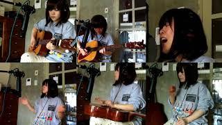 tahiti80のHeartbeatを一人で演奏してみました。 キーは半音2つ分上げ...