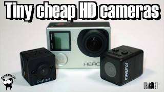 Tiny HD cameras: Quelima SQ12 Vs Firefly Micro Action Cam, supplied by Gearbest