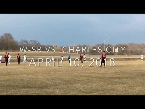 Boys Soccer: W-SR vs. Charles City (April 10, 2018)