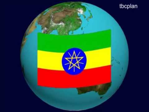 Myanmar Flag on theEarth