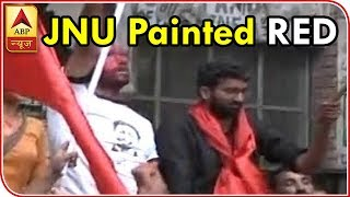 Twarit Mahanagar: JNU Painted RED As Left Sweeps All Four Seats In Student Polls | ABP News