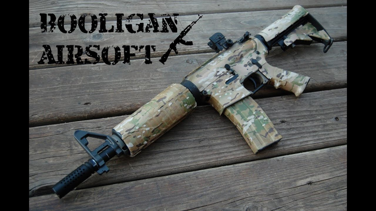 Gunskins Ar15 M4 Multicam Quot Skin Quot Overview Youtube