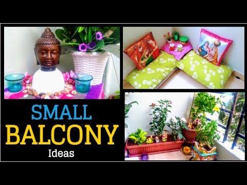Balcony Decorating Ideas | Small Balcony Garden Ideas | Indian Balcony Decor in Telugu | DIY
