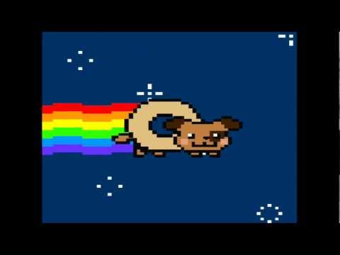 Youtube Poop: Mario + Nyan Cat\Dog Sing Hamster Dance ... Nyan Dog