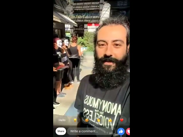 The FIRST Cube of Truth LIVE from Beirut Lebanon