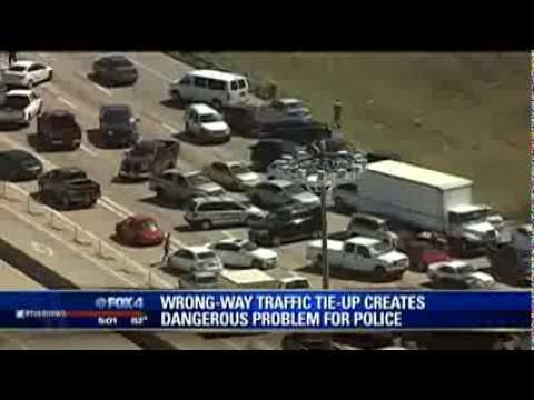 I-635 traffic anarchy