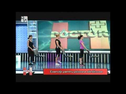 gimnastica medicală video în picior de varicoză)