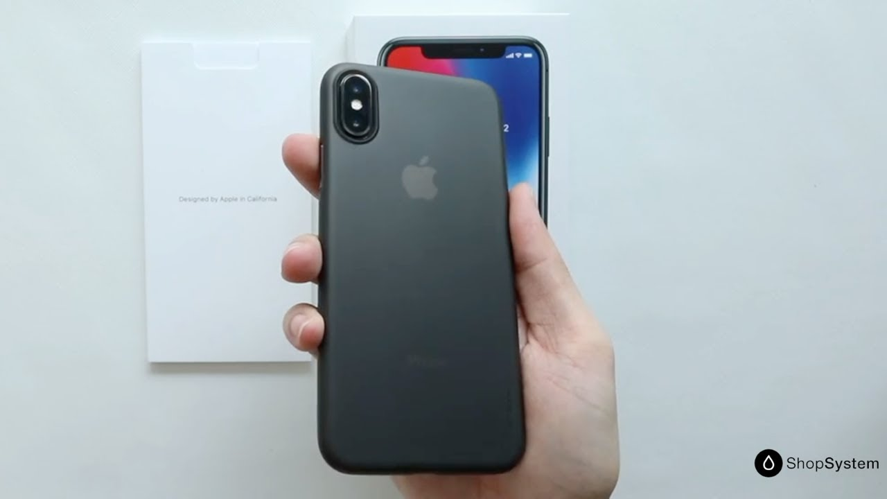 coque tres fine iphone x