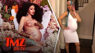 Cardi B Flooded With Baby Pic Offers | TMZ TV