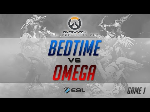 [Thailand] Bedtime vs Omega [Indonesia] - Overwatch - ESL SEA Community Cup - Game 1