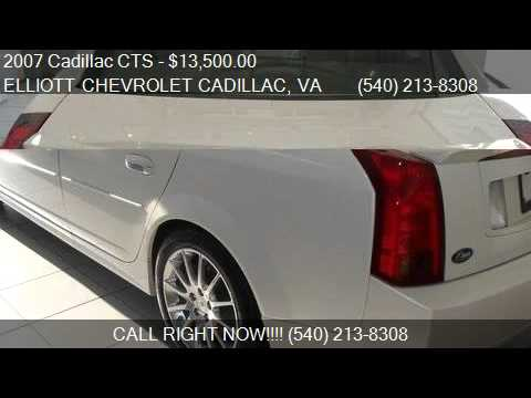 Charming 2007 Cadillac CTS Base 4dr Sedan For Sale In Staunton, VA 24. Elliott  Chevrolet Cadillac