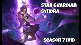 League of Legends: Star Guardian Syndra Mid Gameplay
