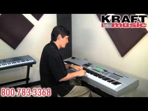Download Kraft Music - Yamaha MO6 and MO8 Demo with Tony Escueta