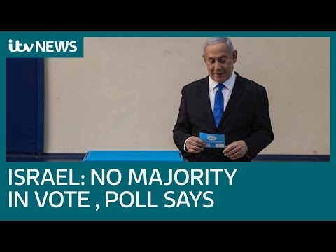 Israel election exit poll suggests Benjamin Netanyahu has failed to win majority | ITV News