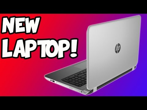 NEW LAPTOP! (HP Pavilion 15 Notebook PC Unboxing)