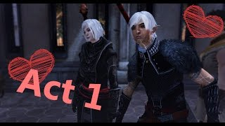 An affair with Fenris. The first act.