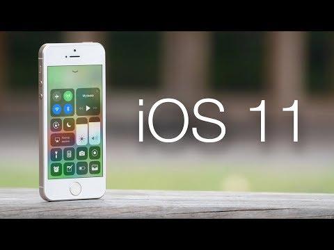 Вышла iOS 11! Как работает на iPhone 5S и 6 Plus? Что нового?
