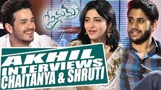 akhil interviews naga chaitanya shruti haasan premam movie exclusive shreyas media