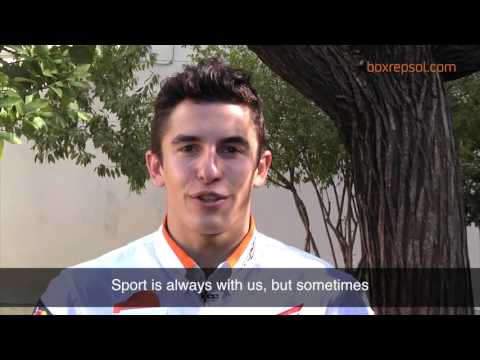 Interview with Marc Márquez