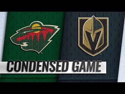 01/21/19 Condensed Game: Wild @ Golden Knights
