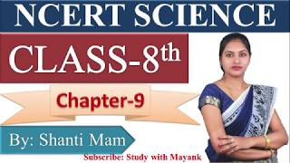 NCERT Science Class-8th Chapter-9 Summary in Hindi[IAS,PCS,RRB,NDA, SSC,KVS,CTET,TET,RO,ARO]