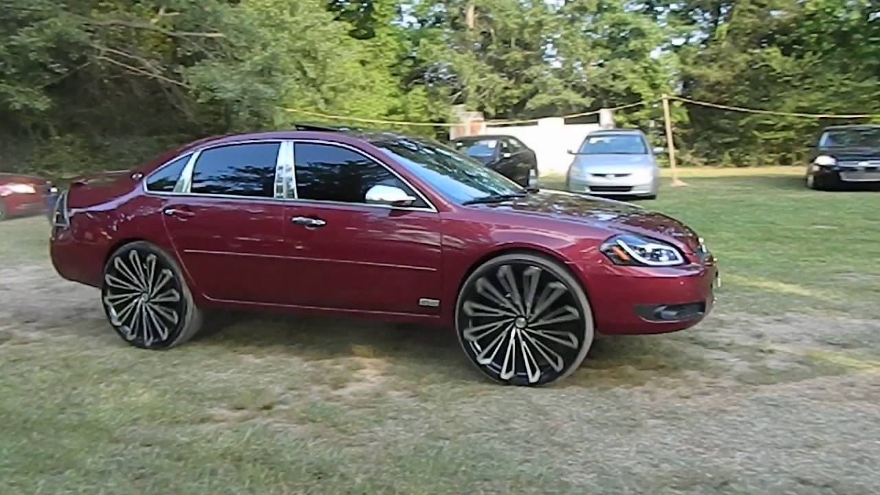 Chevy Impala On 26 Starr Wheels At North Ms Whips Car Show Youtube