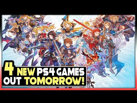 4 NEW PS4 GAMES COMING TOMORROW - FREE GAME, BIG FIGHTING GAME + MORE!