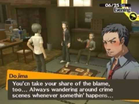 Persona 4 - Dojima Is Drunk!!