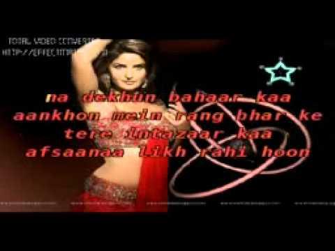 AFSANA LIKH RAHI HOON KARAOKE avi   YouTube