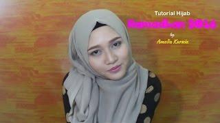 Tutorial Hijab Ramadhan 2016 | Segiempat Paris | INDONESIA | Amalia Kurnia | 2016