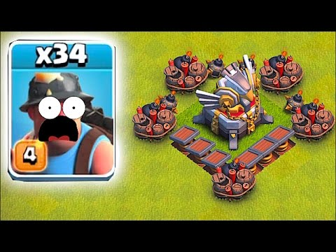 Thumbnail: HEAL SPELLS WON'T SAVE YOU!!🔸MINER MADNESS!!🔸Clash Of Clans