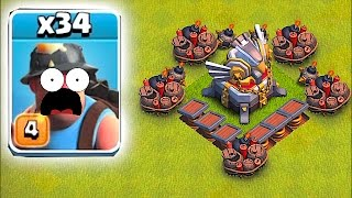 Repeat youtube video HEAL SPELLS WON'T SAVE YOU!!🔸MINER MADNESS!!🔸Clash Of Clans