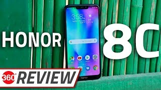 Honor 8C Review | Phone With New Snapdragon 632 SoC Tested