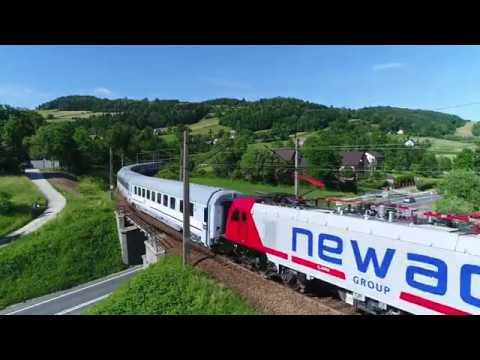 Griffin z Newagu prowadzi zmodernizowane wagony PKP Intercity