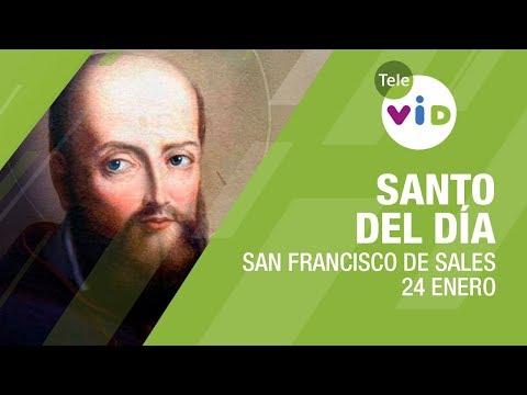 24 Enero día de San Francisco de Sales, Santo del Día - Tele VID